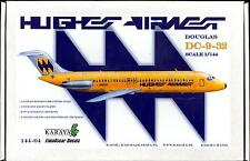 Karaya Models 1/144 DOUGLAS DC-9-30 Hughes Airwest LIMITED EDITION KIT
