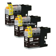 3PK Black Ink Cartridge For Brother LC203 LC203XL MFC-J680DW MFC-J880DW MFC-J485