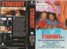 Betamax * Stakeout * 1987 Australian Touchstone Home Video Adult Comedy Thriller