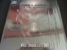 "Philip H. Anselmo & The Illegals ""Walk Through Exits Only"" LP. Limited edition."