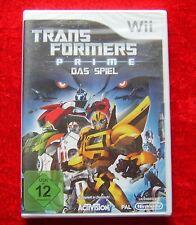 TransFormers Prime Le Jeu, Nintendo Wii Jeu, Neuf, Version allemande