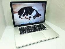 "MacBook Pro Apple A1286 15"" 2012 2.7ghz i7 Quad Core 8gb 500gb HDD"