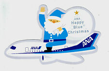 ANA All Nippon Airways Airline Issued Christmas Postcard =
