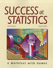 Success at Statistics: A Worktext With Humor, Fred Pyrczak, Acceptable Book