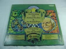 Arthur Fiedler - Great Songs For All Seasons & Christmas - Free Shipping