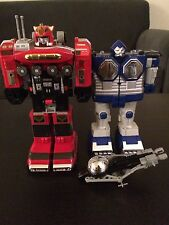 Power Rangers Deluxe Centaurus Megazord + Lost Galaxy Figures, Zord And Part Lot