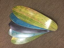 "Skateboard Mini Cruiser Deck, 5pcs Blanks 24"" x 7.5"",  5-Ply, USA, $9.99 each"