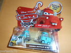 Disney Pixar Cars Toon RESCUE SQUAD MATER Orderly Pitties #1 & #2