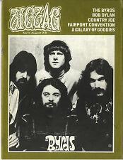 ZIGZAG No 14 August 1970 Byrds Deep Purple Free Beefheart Bob Dylan Jellybread