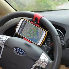 Bicycle / Car Steering Wheel cell phone Mount Holder For Samsung iPhone HTC GPS