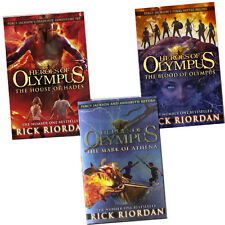 Heroes of Olympus Book Series 3 Books Collection Set By Rick Riordan New Pack