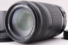 [Near Mint!] Canon EF-S 55-250mm F4-5.6 IS w/Close-up Lens From Japan #1228142