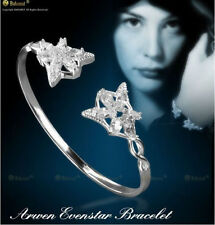 The Lord of The Rings Arwen Evenstar Silver Plated Opening Flower Bracelet Gift