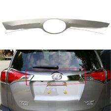 Stainless Steel Rear Trunk Lid Molding Trim Chrome For Toyota RAV4 2013-2015 New