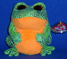 TY BEANIE BOOS BOO'S - SPECKLES the FROG - MINT with MINT TAG
