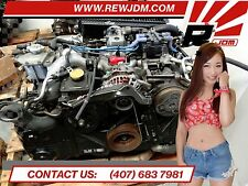 JDM 97-98 Subaru Forester SF5 EJ20G 2.0L Quad Cam Turbo Engine Impreza