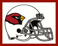 ARIZONA CARDINALS FOOTBALL NFL LICENSED TEAM LOGO HELMET INDOOR DECAL STICKER