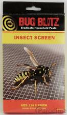 Insect Window Screen Mesh Net Fly Mosquito Bug Patio Doors Caravans White