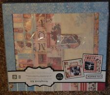 New ~ VINTAGE COLORBOK Kit 12 x 12  SCRAPBOOK COMPLETE KIT w/lots of cute stuff