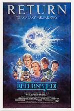RETURN OF THE JEDI • 1-Sheet Movie Poster • STAR WARS • ROLLED • 1985
