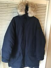 Snow Goose By Par Metro Down Parka Style 4520M Made In Canada Men's Large