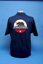 Los Angeles County Fire Department California Bear Shirt.