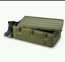 Aluminum Military Medical Chest 32x20x11 Watertight Survival HD Storage Box