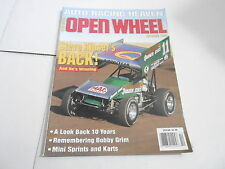 OCT 1995 OPEN WHEEL vintage car racing magazine