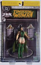 DC DIRECT TOMORROW WOMAN. JLA AMAZING ANDROIDS ACTION FIGURE. NEW ON CARD. 2000
