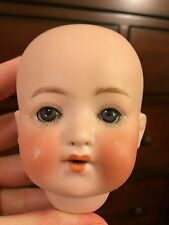 Antique Heubach Koppelsdorf Germany Doll Head Only Green Gray Eyes 320 11/0