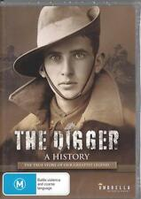 THE DIGGER - A HISTORY -  NEW DVD FREE LOCAL POST