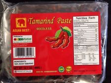 Thai TAMARIND PASTE 14.1oz NO artificial colors, flavors or preservatives -