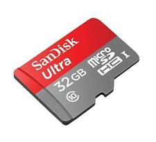 SanDisk 32GB Ultra 80MB/s MicroSD SDHC Micro SD Memory Card with Adapter