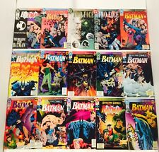 COMPLETE SET OF 70 BATMAN KNIGHTFALL/ KNIGHTQUEST/ KNIGHTSEND  ~1ST PRINTS