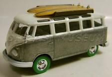 VOLKSWAGEN SAMBA BUS VAN RAW GREEN MACHINE CHASE CAR GREENLIGHT GL DIECAST RARE
