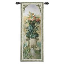 Scenic Panel II Landscape Tapestry Wall Hanging Flowers