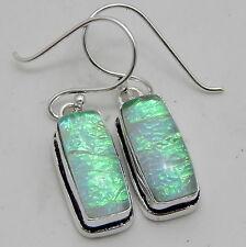 Australian Triplet Opal 925 Sterling Silver Handmade Jewelry Earring 5 Gm A11