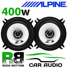 "ALPINE VOLVO V40 1996 On 5.25"" 13cm 2 Way 400 Watts Coaxial Rear Side Speakers"