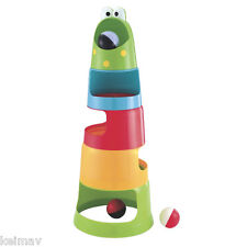 Big Mouth Frog Stack and Drop Ball Educational Toys for Toddlers