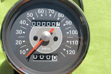 new in! 2:1 ratio MPH GREY face SPEEDOMETER +bulbholder early TRIUMPH BSA SPEEDO