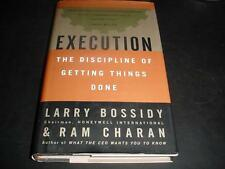 Execution The Discipline of Getting Things Done Larry Bossidy Ram Charan