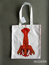 JEFF KOONS LOBSTER CANVAS TOTE BAG : FRENCH IMPORT : LIMITED EDITION