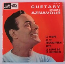 GEORGES GUETARY (EP 45T) CHANTE AZNAVOUR