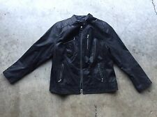 Levi's Stingray Leather Moto Motorcycle Jacket 2XL / L Black Unisex See Sizing