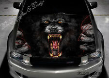 Blood Of The Werewolf Full Color Graphics Adhesive Sticker Fit Car Bonnet #230