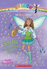 Sadie The Saxophone Fairy (Music Fairies)-ExLibrary