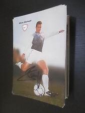 53468 Oliver Bierhoff HSV Werbekarte DFB original signierte Autogrammkarte