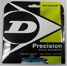 DUNLOP precision18 / 1.18 mm Squash Stringa Set-Blu