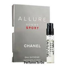Allure Homme Sport for Men by Chanel NEW Fragrance Vial Sample Eau Extreme Spray