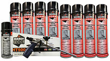 Handi Foam Sealant - Gun Foam Combo Pack (HT500, Cleaner, (8) 24oz cans Sealant)